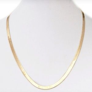 "Jewelry - 18"" Super Flexi Herringbone Necklace"